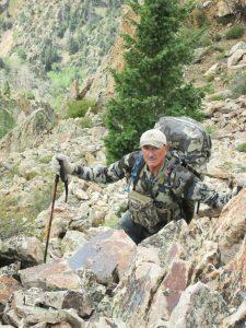 randy hiking