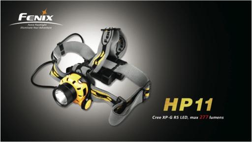 Fenix HP 11 headlamp Review